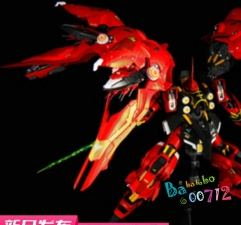 Steel Legend SL-01 1/100 NZ-666 Kshatriya Warlock Red Version Full Frontal Red Comet Use MB Style Gundam Unicorndam Unicorn