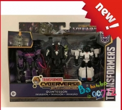 Transformers Cyberverse QUINTESSON INVASION Battle for Cybertron SHOCKWAVE PROWL in stock