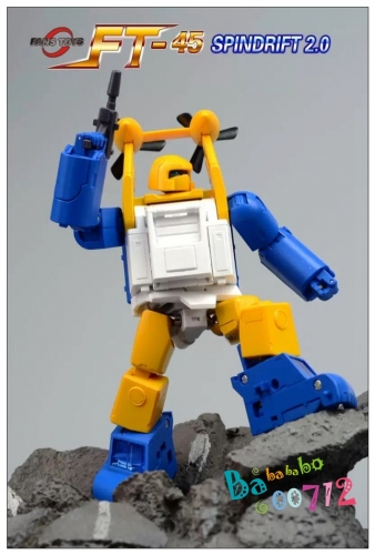 [Incoming] Transformers FansToys  FT45 FT-45 Spindrift 2.0 Seaspray Version 2.0 Action figure Toy