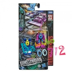 TRANSFORMERS WAR FOR CYBERTRON EARTHRISE MICROMASTERS RACE TRACK PATROL SET OF 2 mini