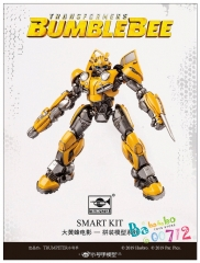 Pre-order Trumpeter Transformers Bumblebee Smart Model Kit Assembled Action figure toy