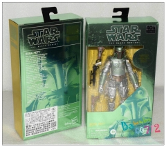 Star Wars The Black Series Carbonized Boba Fett Action Figure Toy in stock