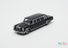 [Preorder]YUNLI 1/64 Scale Mercedes-Benz PULLMAN W100 Black Alloy Model Car Gift Collection