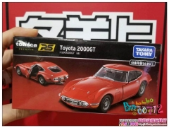 Takara Tomy 1/43 Tomica premium RS Toyota 2000GT Red Diecast Car